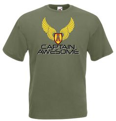 £10.99 Captain Awesome Men's TShirt - Worldwide Delivery