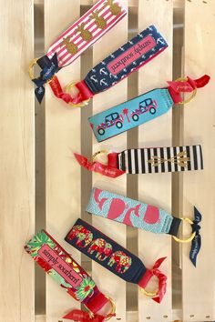 Simply Southern Key Chain from Chocolate Shoe Boutique