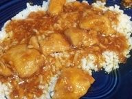 Bourbon Street Chicken on BigOven: A flavorful chicken dish named after Bourbon Street in New Orleans, Louisiana   This was a copycat recipe I found  modified of the Bourbon Chicken sold in most Chinese take-outs; which rarely use bourbon as a component.  Its wonderfully sweet  spicy without being too hot.