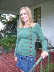 Ravelry: Buttony Sweater pattern by Katie Marcus