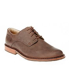 "Sebago Men's ""Salem"" Lace-Up Shoes in Dark Brown"