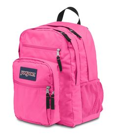 Fluorescent Pink Spots JanSport Digital Student Backpack
