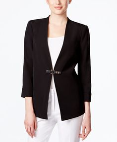 Calvin Klein Buckle-Front Jacket