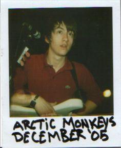 Alex Turner Dec 2005