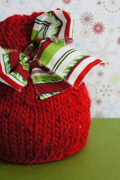Christmas Baby Hat Knit Newborn Hat Baby Photo by FashionTouch, $30.00