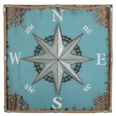 Cooper Classics Compass Hanging Wall Art - Wall Art at Hayneedle
