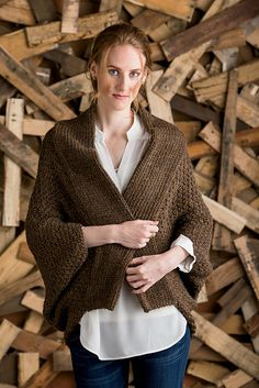 Ravelry: Cocoon Shrug pattern by Nancy Ricci
