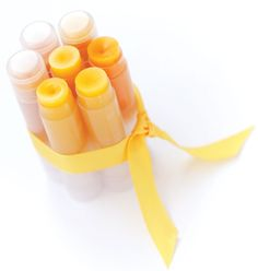 This cocoa butter lip balm recipe makes use of one of the best ingredients for skin.data-pin-do=