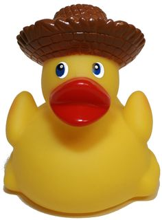 Rubber Ducks Family tropical R Straw Hat Rubber Duck, Waddlers Brand Toy Bath...
