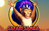 Safari Samba Slot Machine  Who said that the life in a jungle or on the plains of Africa has to be all about survival? If you don't agree, you just need to take a shot at Safari Samba, an animal-themed Spinomenal slot where the partying knows no bounds,