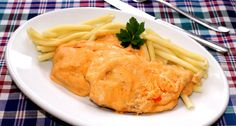Hungarian Recipes, Hungarian Food, Thai Red Curry, Macaroni And Cheese, Pork, Food And Drink, Meat, Chicken, Ethnic Recipes
