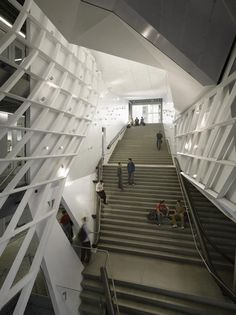 Cooper Union for the Advancement of Science Art, NY - 41 Cooper Square: Thom Mayne Parametric Architecture, Innovative Architecture, School Architecture, Architecture Details, Interior Architecture, Interior Design, Morphosis Architects, My Building, Architectural Photographers