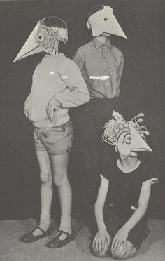 bird masks