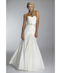 Beautiful taffeta fit & flare,diamante detailing on sale from .Lechelles Bridal Are you ready for the price?......✨£195✨