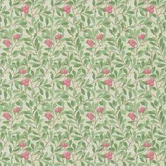 Tapet Arbutus Olive/Pink (Syster Lycklig)
