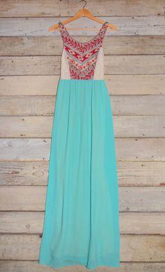 Sleeveless Aztec Print Maxi Dress – Deep South Pout by ahsiek Beautiful Maxi Dresses, Cute Dresses, Cute Outfits, Long Dresses, Fall Outfits, Moda Mania, Passion For Fashion, Love Fashion, Fashion News