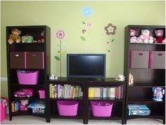 Girls Playroom Decorating Ideas   Girls' Playroom - Girls' Room Designs - Decorating Ideas - HGTV Rate ...