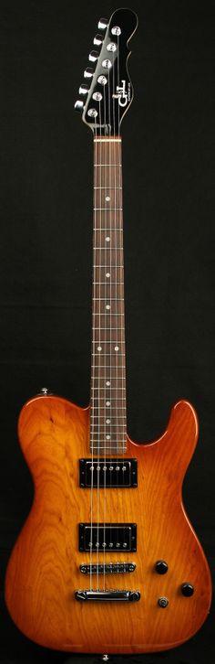 G&L Guitars ASAT® Deluxe II Honeyburst,