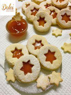 Biscotti #senzalattosio alla marmellata. Niente burro ma miele!