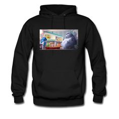 Desic Fashion The Secret Life of Pets Cat Logo Men's Original Hoodies Tee Black M -- Awesome products selected by Anna Churchill