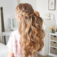 ✔ Hairstyles For Girls Videos Formal #hairstylesbyaurora #HairstylesInNewYork #hairstylesofinstagram