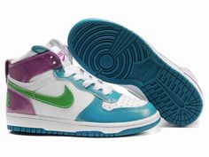 the latest 666be 5c913 Nike High Tops, Nike Dunks, Nike Women, Nike Shoes, Blue Green, Cher,  Blazer, Nike Tennis, Women Nike