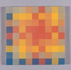 Ethel Stein; Red, Yellow, Blue, Green, Orange | The Art Institute of Chicago