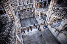 Buongiorno #Milano Eccoci sul Duomo con Jean-Christophe Guisset #milanodavedere Milano da Vedere