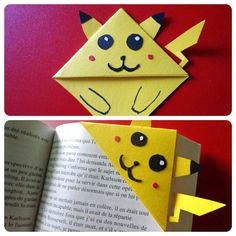 Hey, I found this really awesome Etsy listing at https://www.etsy.com/listing/194786403/bookmarks-pikachu