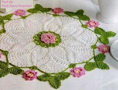 Pink Rose Crochet: the centrinho-pineapple-graph search results Crochet Doily Patterns, Thread Crochet, Crochet Designs, Crochet Stitches, Stitch Patterns, Knit Crochet, Crochet Dollies, Crochet Flowers, Crochet Home