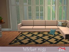evi's Wicker rugs Game Creator, Sims Community, Electronic Art, Sims 4, Wicker, Content, Rugs, Home Decor, Farmhouse Rugs