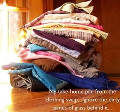 Host a clothing swap instead of buying new. Yes I Can, I Can Do It, Swap Party, Clothing Swap, Pennies, Girls Night, Clothes, Girls Night In, Outfits