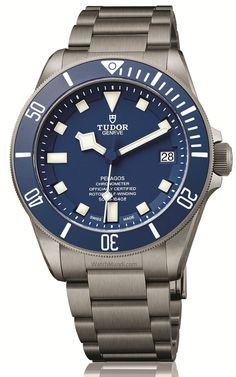 TUDOR PELAGOS BLUE. Updated with the new manufacture calibre TUDOR MT5612.