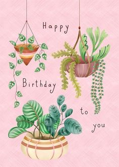 Happy Birthday Floral, Happy Birthday Art, Birthday Wall, Happy Birthday Wishes Cards, Birthday Wishes And Images, Happy Birthday Beautiful, Birthday Pins, Happy Birthday Friend, Happy Wishes