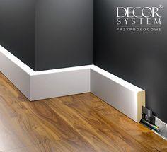 Listwa przypodłogowa LMDF-1 to element dekoracyjny, który stanowi harmonijne przejście ściany w podłogę #listwy #listwa #listwyprzypodłogowe #Baseboards #listwymdf Outdoor Furniture, Outdoor Decor, Bathtub, Architecture, Storage, Interior, Projects, House, Inspiration
