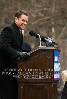 The Adjustment Bureau's best Inspirational quote