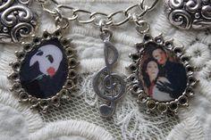 Phantom of the Opera charm bracelet
