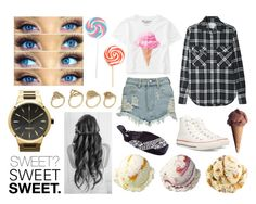 """SWEET"" by natleite ❤ liked on Polyvore featuring Boohoo, Aéropostale, R13, Converse, ALDO and River Island"