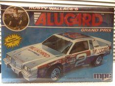 MPC VINTAGE Rusty Wallace Alugard Pontiac Grand Prix  Model Kit 1/25 1985 Rls #MPC