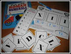 Relentlessly Fun, Deceptively Educational: Add and Subtract with Roman Numerals--The Glorious Flight Teaching Numbers, Math Numbers, Teaching Math, Teaching Ideas, Fun Math, Math Games, Math Activities, Roman Numerals Games, Logic And Critical Thinking