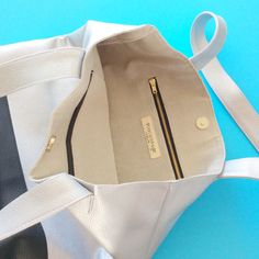 Silver tote bag everyday tote shopping tote silver leather