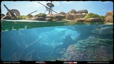 ArtStation - Uncharted 4: A Thief's End - Reef, Anthony Vaccaro