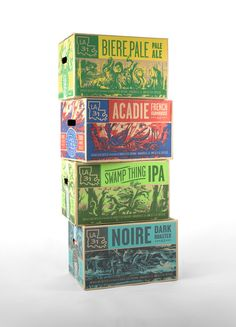 Creative Agency: TILT  Project Type: Produced, Commercial Work  Client: Bayou Teche Brewing  Location: Arnaudville, LA  Packaging Contents...