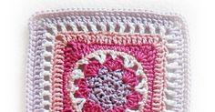 kostenlose Anleitung für Granny Square Sternblüte