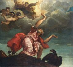 This Is Absolutely Beautiful. St John the Evangelist on Patmos painted by Titian, Italian artist, National Gallery of Art, Washington DC, USA. National Gallery Of Art, Art Gallery, National Art, Andrea Mantegna, St John The Evangelist, High Renaissance, Great Works Of Art, Italian Artist, Poster Prints