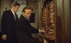 German conductor, choirmaster, organist, and harpsichordist Karl Richter plays Johann Sebastian Bach's Toccata and Fugue in D minor, BWV 565.