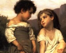 Oil Painting by William Adolphe Bouguereau Desktop Wallpaper William Adolphe Bouguereau, Famous Painters Names, Classical Realism, Classical Art, Medieval Paintings, Film Books, Pictures To Paint, Painting Pictures, Beautiful Paintings