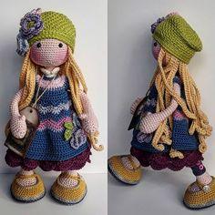 Knitted Dolls, Crochet Dolls, Knit Crochet, Crochet Hats, Cupcake Dolls, Wet Felting, Amigurumi Doll, Fabric Dolls, Doll Toys