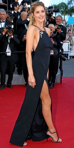 The Best of the 2015 Cannes Film Festival Red Carpet - Doutzen Kroes from #InStyle