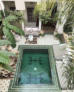 Le Riad Yasmine, a beautiful boutique hotel in Marrakech via @danaecgf  We're having a little flash sale on Stone Fox Swim. 30% off with code SFS30. Today only! Ends at midnight 1/15 at midnight PST www.soleilblue.com